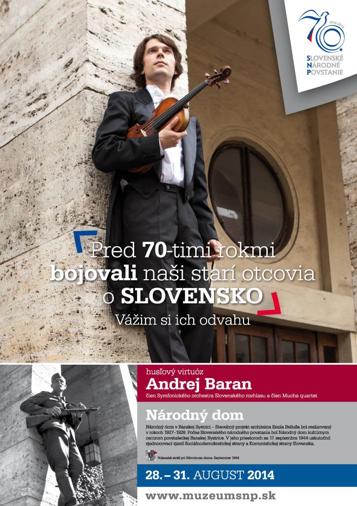 Andrej Baran - husľový virtuóz